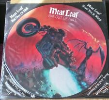 """MEATLOAF BAT OUT OF HELL 12"""" VINYL PICTURE PIC DISC MEAT LOAF LIMITED EDITION"""