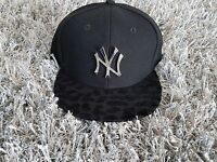 New Era New York Yankees Cap 9Fifty Snapback Women schwarz