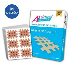 AKTIMED Grid Tape CLASSIC Gitterpflaster Crosstape Akupunkturpflaster Gittertape