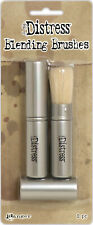 Tim Holtz Distress Retractable Blending Brush 2/Pkg-