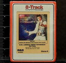 Elvis Presley Legendary Concert Performances! S-244047 8 track Twin Set New