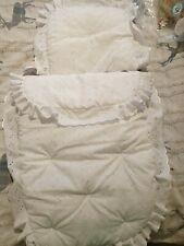 CLAIR DE LUNE White Frilly Pram Set, Brand new in bag