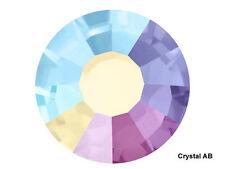 Crystal AB, Preciosa Genuine Czech Viva Chaton Rose Flatback Rhinestones, Viva12