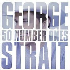 """GEORGE STRAIT 50 #1's 2CD BRAND NEW Number Ones Best Of Incl """"I Hate Everything"""""""
