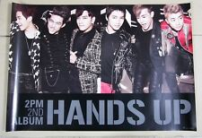 2PM - Hands Up 2nd album / OFFICIAL POSTER *HARD TUBE CASE*
