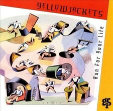 "Yellowjackets ""Run for Your Life"" CD! BRAND NEW! STILL SEALED!!"