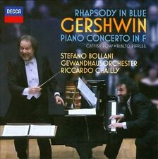 Gershwin: Rhapsody in Blue; Piano Concerto in F (CD, Decca) Bollani, Chailly