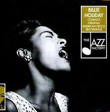 💿-THE COMPLETE BILLIE HOLIDAY ORIGINAL AMERICAN DECCA RECORDINGS 2-CD JAZZ SET!