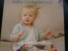 "Debbie Bliss "" BABY CASHMERINO 2""  Knitting Booklet"