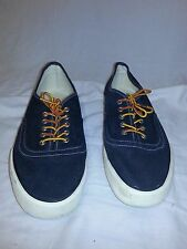 American Eagle Outfitters AEO Canvas Sneakers Men's Blue Casual Shoes Size 10