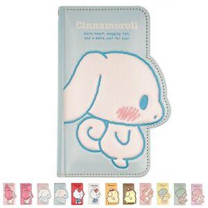 Sanrio Flip Wallet Cover for iPhone 13 12 11 Pro Max mini XS XR SE 8 7 Plus Case