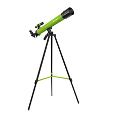Bresser Junior Kids Space Explorer 45mm Refractor Telescope: Green