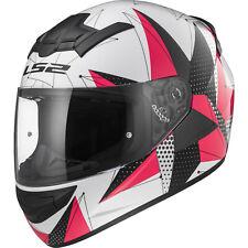 Motorcycle Helmet Integral LS2 352 Rookie Brilliant Size S Black White