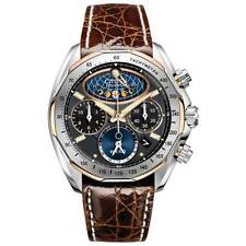 Citizen AV3006-09E Men's Signature Moon Phase Flyback Chrono Eco-Drive Watch
