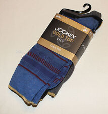 Jockey Mens Gold Top Cotton Rich Crew Socks 3 Pair Pack 05K Size 11 - 13 New