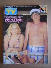 TV Sorrisi e Canzoni n°34 1989 Mara Venier Arbore Dora Moroni Grandi Alt  [G585]