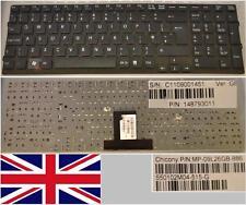 Teclado Qwerty UK SONY VAIO VPC-EB MP-09L26GB-886 148793011 cuadro No. Negro