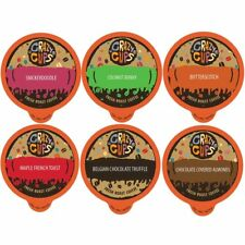 Crazy Cups Flavored Coffee for Keurig K Cups 2.0 Dessert Lover's Variety 24 Ct