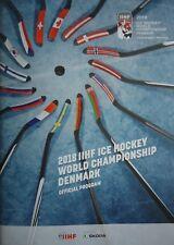 Programm IIHF Eishockey WM 2018 Dänemark Kopenhagen - Herning