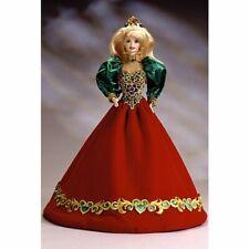 Vintage  Holiday Jewel™ Barbie Holiday Porcelain Barbie Collection LIMITED ED