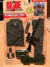 "GI JOE 12"" 1/6 Classic Collection RECONNAISSANCE FORCE Mission Gear Set NEW/MOC"