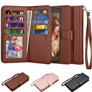 For LG Stylus 3/ Stylo 3 Leather Wallet Credit Card Holder Flip Stand Case Cover