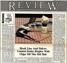 SL28/11/75p43 Album Review & Picture : John Lennon's Shaved Fish