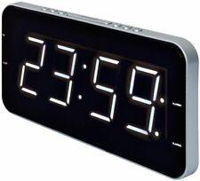 CLR-2615 Großes Display Roadstar Uhrenradio mit schlankes Design, Dual Alarm
