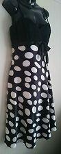 Ladies Size 12 Polka Dot Dress - L'Amour