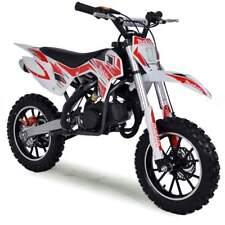 50cc Dirt Bike Kids Mini Funbikes MXR 61cm Red Motorbike Petrol