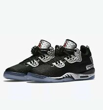 Nike air jordan spizike quarante bas 833460 002 uk 5.5 EU38.5 noir/pure platinum!!!