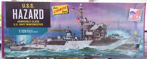 U.S.S. Hazard Admirable Class US Navy Minesweeper 1:125 Lindberg 429