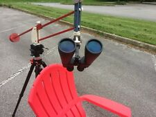Parallelogram Binocular Mount, OPTIONS - for chair,use weights, and  Accessories