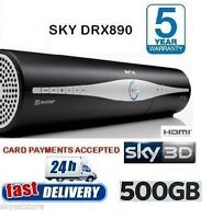 SKY PLUS +HD BOX AMSTRAD DRX890 **500GB****SLIMLINE BOX******
