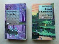 Lot de 2 livres Le Cycle D'Hypérion | Endymion Tome 3 L'éveil D'endymion Tome 4.