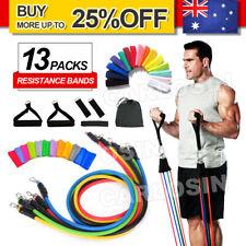 11Pcs Set Resistance Bands Workout Exercise Yoga Fitness Training Tubes