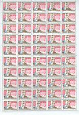 Uruguay 1968 President Oscar Gestido MNH Full Complete sheet #S156