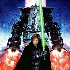 "LUKE SKYWALKER Signed ART PRINT Dave Dorman STAR WARS Dark Empire Trilogy 18x12"""