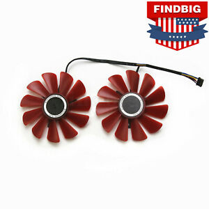 NEW Video Graphics Card Cooling fan for XFX AMD Radeon RX 570 4GB GDDR5 12V 88MM