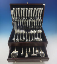 Onslow by Tuttle Sterling Silver Flatware Service For 12 Set 93 Pieces