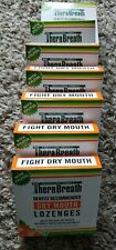 7 TheraBreath Dry Mouth Lozenges Mandarin Mint 24 each (168 total) New 02/20