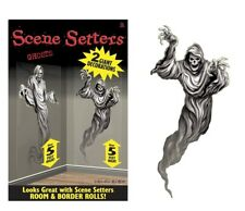 Pack of 2 Ghosts 5ft Tall Halloween Scene Setters Giant Party Decorations - New