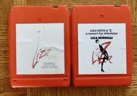 """2 lot 8-Track tapes Liza Minnelli – Liza With A """"Z"""" / Live At The Winter Garden"""