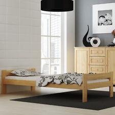Einzelbett Bettgestell Jugendbett mit Matratze 90x200cm Lattenrost Singlebett