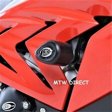 BMW S1000RR (2018) R&G RACING PAIR Aero style motorcycle crash protectors fit