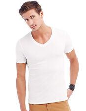 Stedman Herren T-Shirt Tiefer V-Ausschnitt 3 Farben S M L XL 2XL Shirts Body Fit