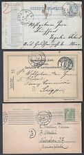 AUSTRIA HUNGARY CZECHOSLOVAKIA 1890 1900's COLLECTION OF 9 POSTAL CARDS DIFF TOW