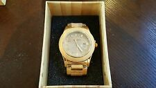 BEWELL New Natural Wooden Watches Japan Movt Quartz Wood Watch For MEN Gift