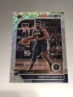 2019-20 NBA Hoops Premium Stock Zion Williamson Silver Scope Prizm Rookie SP