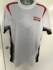 Nissan NISMO GT-R mens T-shirt white new size Small